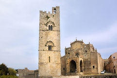 Chiesa Madre in Erice Stock Photos
