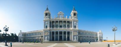 Chiesa a Madrid fotografie stock