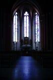 Chiesa Mainz del ` s della st Stephan dell'altare Fotografie Stock