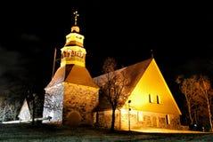 Chiesa marina antica Fotografie Stock Libere da Diritti