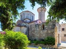 Chiesa medievale nella città di Rodi Immagine Stock Libera da Diritti