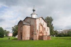 Chiesa medievale ortodossa russa in Veliky Novgorod Fotografia Stock