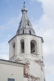 Chiesa medievale ortodossa russa in Veliky Novgorod Immagine Stock