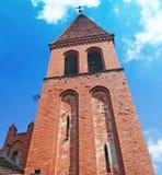Chiesa medievale in Piaski - Grudziadz Fotografie Stock Libere da Diritti