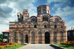 Chiesa medioevale Fotografia Stock