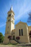 Chiesa medioevale della regione montagnosa Fotografia Stock Libera da Diritti