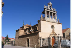 Chiesa medioevale di Astorga Fotografia Stock Libera da Diritti