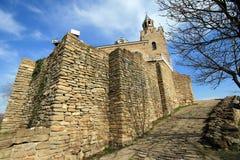 Chiesa medioevale in Europa Immagini Stock Libere da Diritti