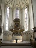 Chiesa medioevale in Sighisoara Fotografia Stock Libera da Diritti