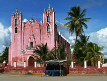 Chiesa messicana Fotografie Stock