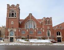 Chiesa metodista Immagine Stock