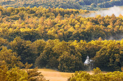 Chiesa metodista, baia di Cades, Great Smoky Mountains Immagini Stock