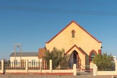 Chiesa metodista, costruita 1926, in Keetmanshoop Fotografia Stock Libera da Diritti