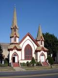 Chiesa metodista della baia del sarago americano Immagine Stock