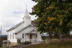 Chiesa metodista unita della cappella di Wesley Fotografia Stock Libera da Diritti