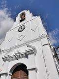 Chiesa a Mijas nelle montagne sopra Costa del Sol in Spagna Fotografia Stock Libera da Diritti
