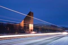 Chiesa moderna Fotografia Stock Libera da Diritti