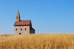 Chiesa molto vecchia Fotografia Stock