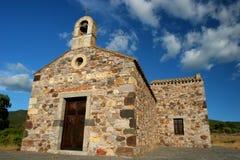 Chiesa in montagna Immagini Stock