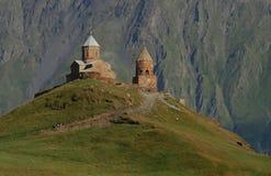 Chiesa in montagne Fotografie Stock Libere da Diritti