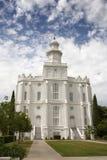 Chiesa mormonica Immagini Stock
