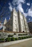 Chiesa mormonica Fotografie Stock