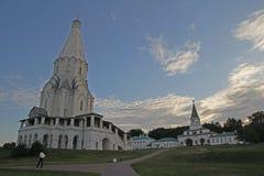 Chiesa Mosca di ascensione fotografia stock