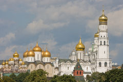 Chiesa a Mosca Kremlin. Immagini Stock