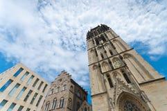 Chiesa a Munster, Germania immagine stock libera da diritti