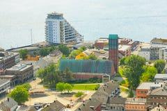 Chiesa in Namsos, Norvegia immagini stock libere da diritti