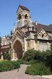 Chiesa nel castello di Vajdahunyad Fotografia Stock Libera da Diritti