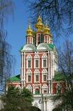 Chiesa nel convento di Novodevichy Fotografia Stock