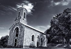 Chiesa nel Croatia fotografia stock libera da diritti