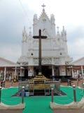 Chiesa nel Kerala, India fotografie stock