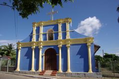 Chiesa nel Nicaragua Immagine Stock Libera da Diritti