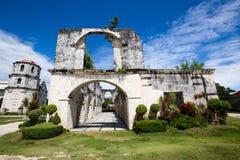 Chiesa nel Oslob, Filippine immagine stock