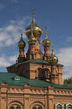Chiesa nel Perm Fotografia Stock Libera da Diritti