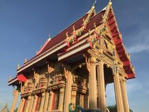 Chiesa nel tempio immagini stock libere da diritti