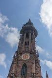 Chiesa nella città di Friburgo in Germania Immagini Stock Libere da Diritti