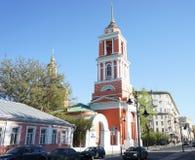 Chiesa nella città di Mosca Immagine Stock