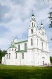Chiesa nella città di Polatsk, chiesa della Bielorussia nella città di Polatsk, Bielorussia Immagini Stock