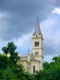 Chiesa nella città di Sighisoara Immagine Stock Libera da Diritti
