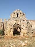 Chiesa nella fortezza Fotografia Stock Libera da Diritti
