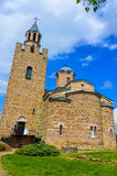 Chiesa nella fortezza di Tsarevets Fotografia Stock Libera da Diritti