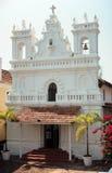 Chiesa nella fortificazione di Tiracol fotografia stock libera da diritti
