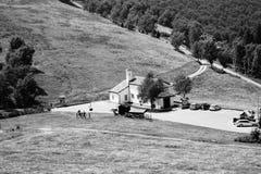Chiesa nella natura fotografie stock libere da diritti
