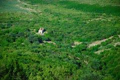 Chiesa nella valle di Alazan Immagine Stock