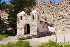Chiesa nelle Ande, Argentina Fotografia Stock Libera da Diritti