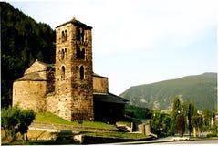 Chiesa nelle montagne Fotografia Stock Libera da Diritti