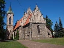 """Chiesa nello skie del """"di KoÅ, Polonia Fotografie Stock Libere da Diritti"""